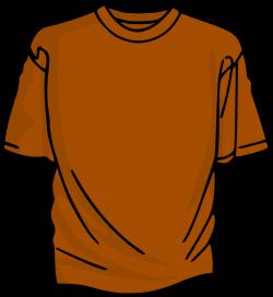 Clipart - Orange T-Shirt