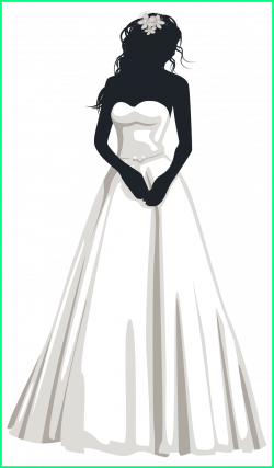 Fascinating Bride Silhouette Png Clip Art Weddings Of Clothing ...