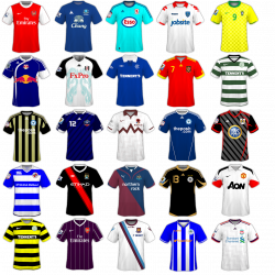 Football Shirts . Picture. | Be international deco | Pinterest ...