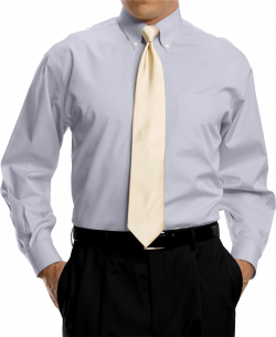 Bright Grey Full Sleeve Shirt With Golden Tie PNG Image - PurePNG ...