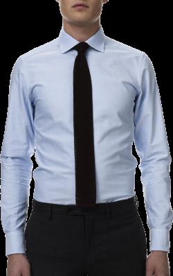 Llight Blue Dress Shirt Black Tie PNG Image - PurePNG | Free ...