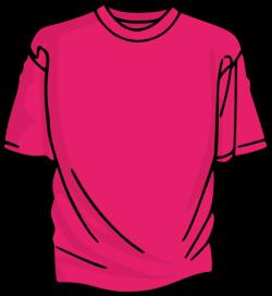 Pink T-shirt Clip Art at Clker.com - vector clip art online, royalty ...