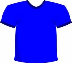 Blue T-shirt Clip Art at Clker.com - vector clip art online, royalty ...