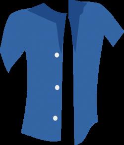 Blue Shirt Clipart   i2Clipart - Royalty Free Public Domain Clipart