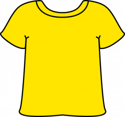 Yellow Tshirt Clip Art - Yellow Tshirt Image