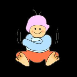 Clipart - baby winter wear