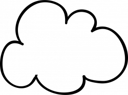 Cloud Sketched Shape Svg Png Icon Free Download (#56345 ...