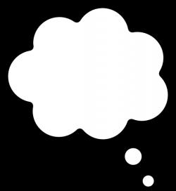 Thought Cloud Clip Art at Clker.com - vector clip art online ...