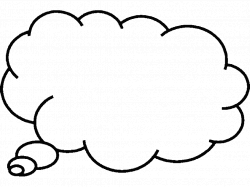 28+ Collection of Thinking Cloud Clipart | High quality, free ...