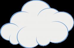 Cute Cloud Clip Art | Original file (SVG file, nominally 151 × 98 ...