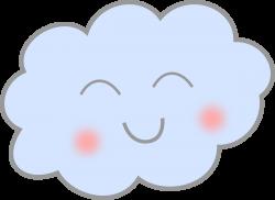 Clipart - Happy Cloud