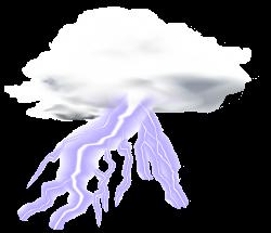 Lightning Cloud Transparent Clip Art PNG Image | Gallery ...