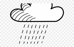 Cloud Clipart Pdf - Drawing Cloud Rain - Png Download ...