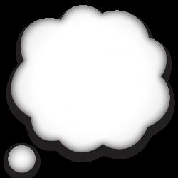 Download Thought Speech Bubble Emoji | Emoji Island