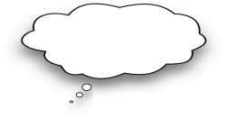 Clipart - Thought bubble