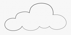 Cloud Clipart Sketch - Cloud Transparent Background Clipart ...