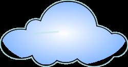 Cloud Clip Art at Clker.com - vector clip art online, royalty free ...