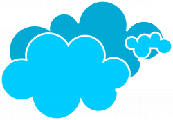 28+ Collection of Blue Clouds Clipart Png | High quality, free ...