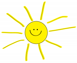 Free Sun Clipart to decorate for parties, craft projects, websites ...