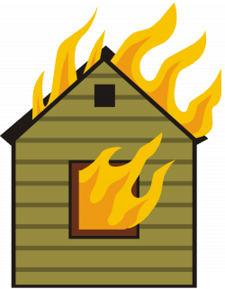 28+ Collection of A House On Fire Clipart | High quality, free ...