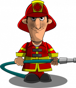 Funny Firefighter Cartoon | Clipart Panda - Free Clipart Images