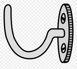 Clip - Coat Hook Clip Art - Png Download (#483129) - PinClipart