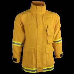 Interface Coat — 7.0 oz Tecasafe Yellow — CrewBoss P.P.E.