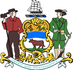 File:Coat of arms of Delaware.svg - Wikimedia Commons
