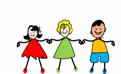 28+ Collection of Three Friends Holding Hands Clipart | High quality ...