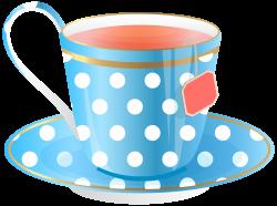 Blue Tea Cup PNG Transparent Clip Art Image   Gallery Yopriceville ...