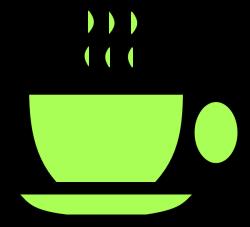 Green Tea Cup Clip Art at Clker.com - vector clip art online ...