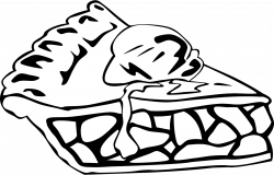 Pie Clipart Black And White   Clipart Panda - Free Clipart Images