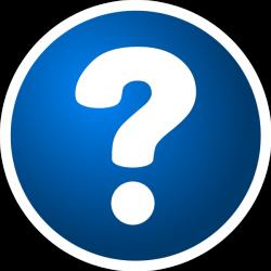 Blue Question Mark Clip Art | Clipart Panda - Free Clipart Images