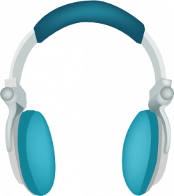 Blue Headphones Clip Art at Clker.com - vector clip art online ...