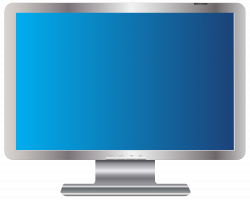 PC Monitor Transparent PNG Clip Art Image | Gallery Yopriceville ...