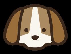 Dog Head Clipart