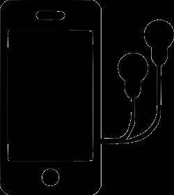 Iphone With Headphones Clipart & Iphone With Headphones Clip Art ...
