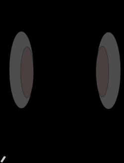 OnlineLabels Clip Art - Cartoon Headphones