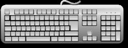 Public Domain Clip Art Image | Blank Generic Keyboard | ID ...