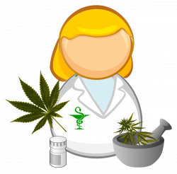 Medical cannabis - pharmacist Icons PNG - Free PNG and Icons Downloads