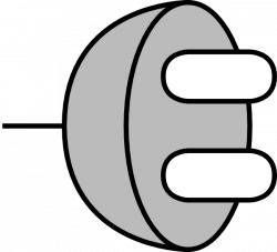 Plug 6 Clip Art at Clker.com - vector clip art online, royalty free ...