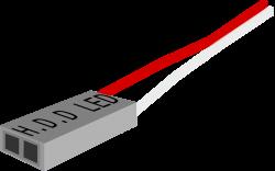 Clipart - H.D.D LED plug