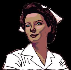 Nurse Computer Clip Art | Nurse clip art - vector clip art online ...
