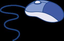 Blue Computer Mouse - Free Clip Art | Etc | Pinterest | Clip art ...