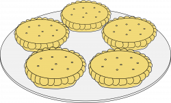 Clipart - Mince pies