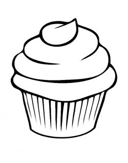 Pretty Cupcake Coloring Pages - Cookie Coloring Pages : KidsDrawing ...