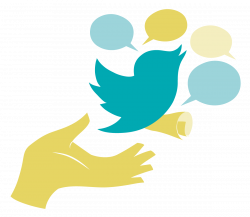 Free vector twitter clipart
