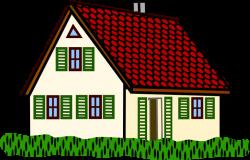 Houses clip art 3 clipartcow - Clipartix