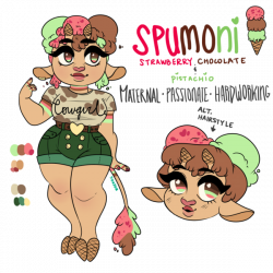 Ice Cream Cow Reference: Spumoni by oreorc on DeviantArt