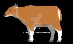 Bos javanicus (female) by TroodonVet on DeviantArt